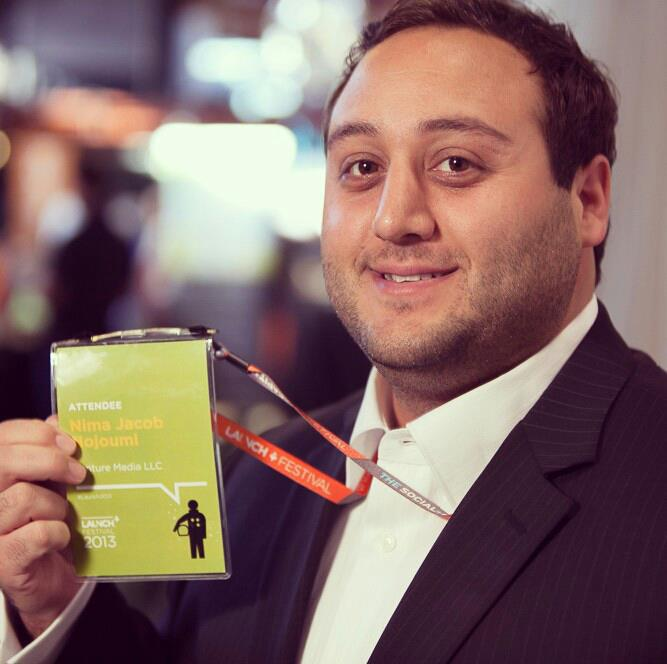 Nima Nojoumi at the Launch Startup Festival 2013