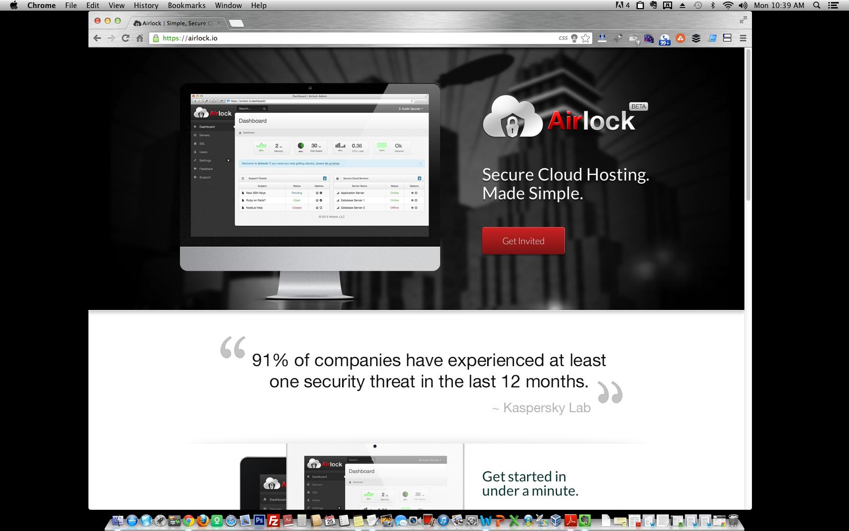 Airlock homepage