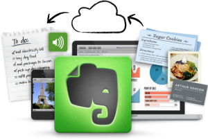 diy tech tip: stay digitally organized with evernote